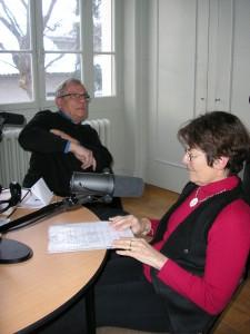 Christine et Roland répondent aux question des journalistes